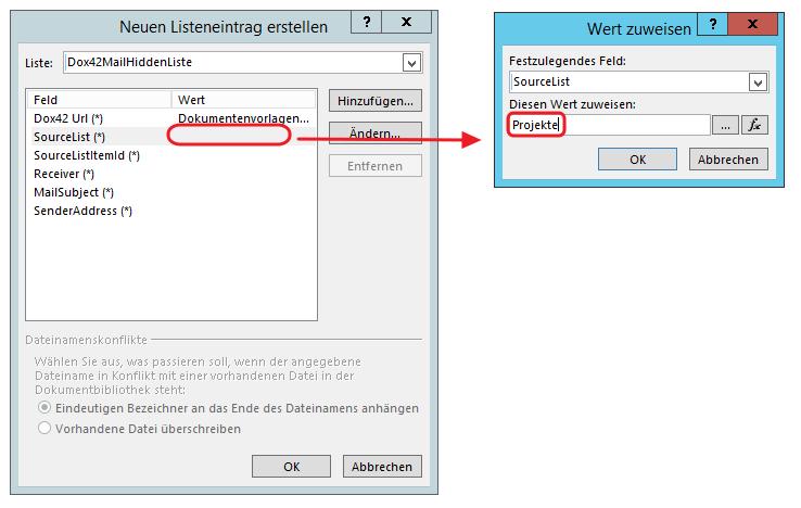SharePoint Designer SourceList