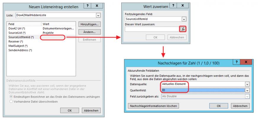 SharePoint Designer SourceListItemID