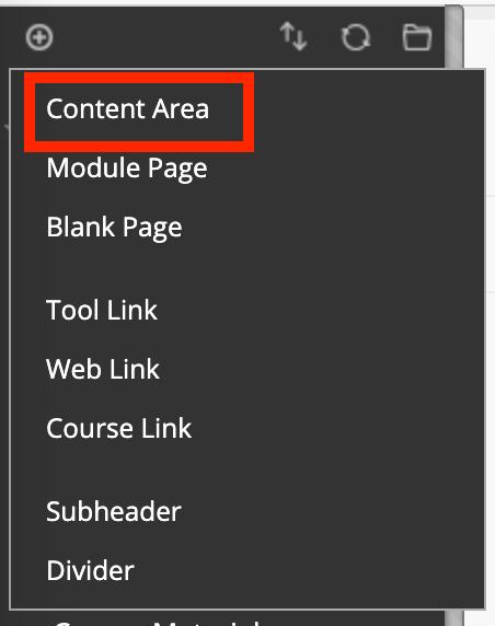 Content area screenshot