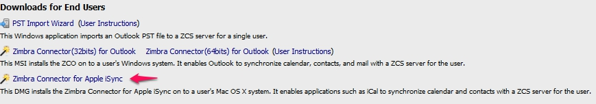 How to Synchronize iCal/Address Book to Work with the Zimbra