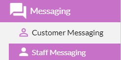 staff messaging