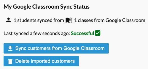 sync status