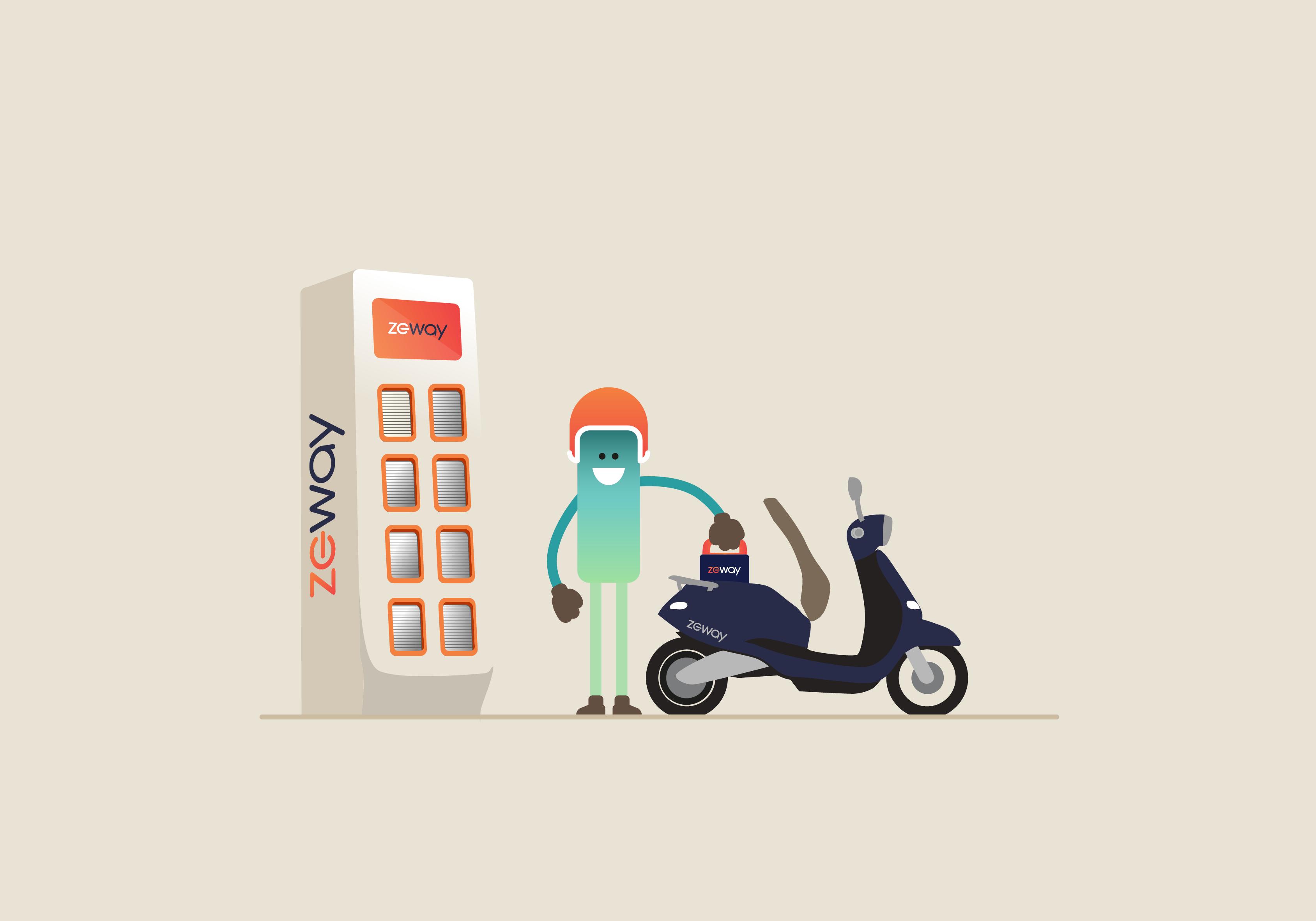 station échange batterie