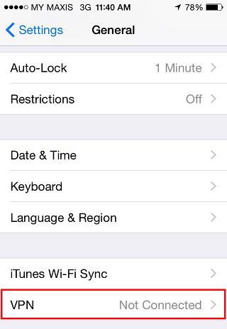 Iphone L2tp Vpn Setup My Private Network