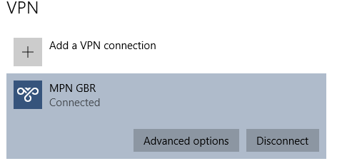 how to make connection private windows 10