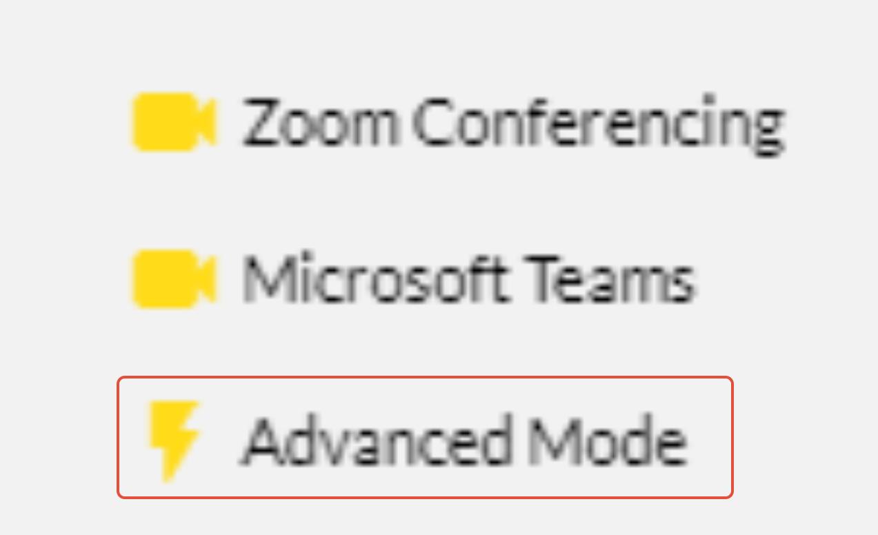 10to8 advanced mode