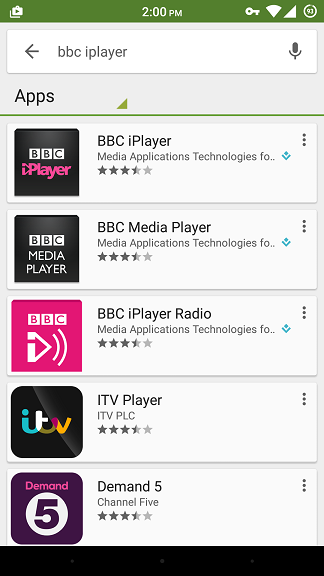 Now, you can look for the region restricted apps in your Google Play Store