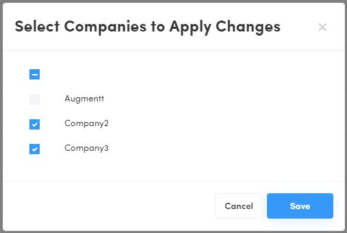 v2.8 Bulk Select Multiple Companies