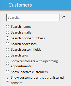 10to8 search options