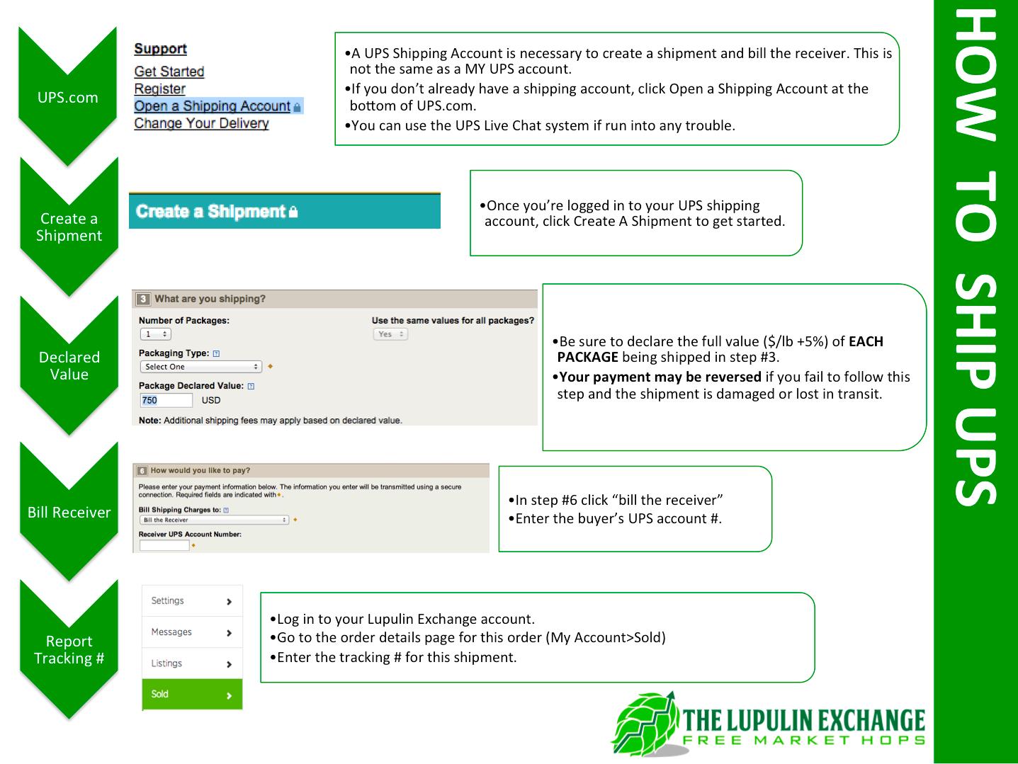 how to ship ups : lex help desk