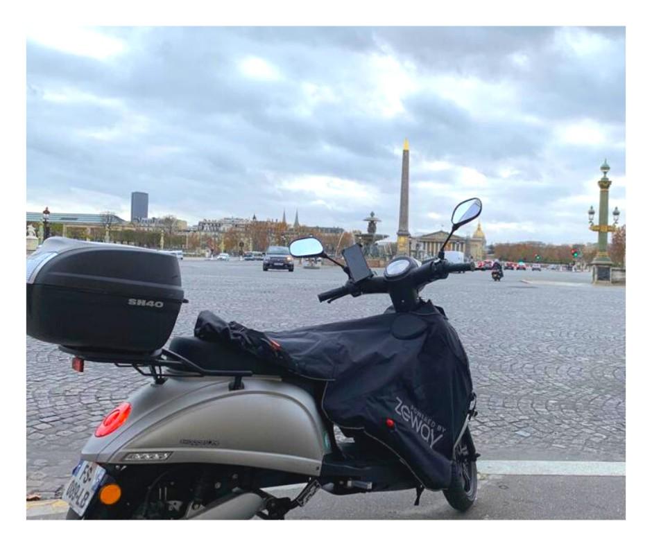 scooter électrique ZEWAY