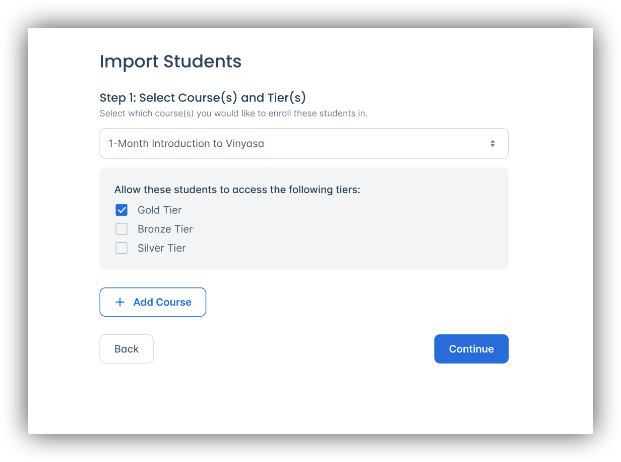 Import Students