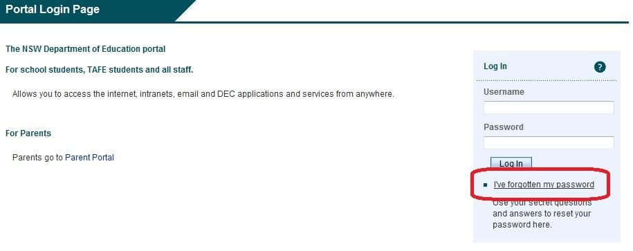 PRC coordinator receives 'Incorrect username or password' when