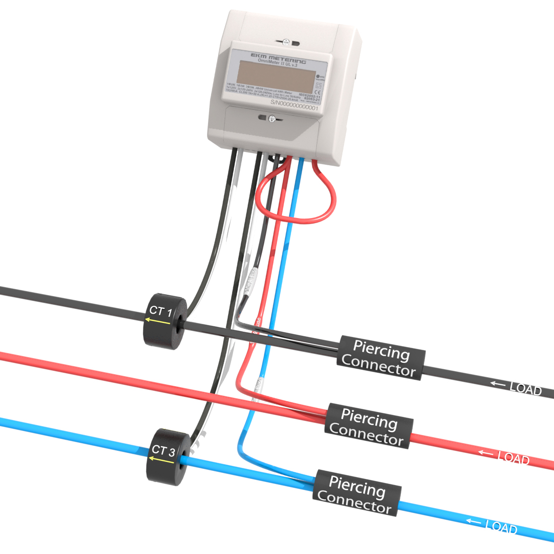 3-phase 3-wire up to 415v : EKM Support Desk