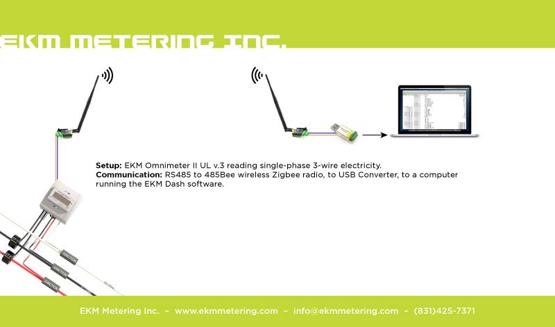 Single phase 3 wire 120240v metering EKM Support Desk
