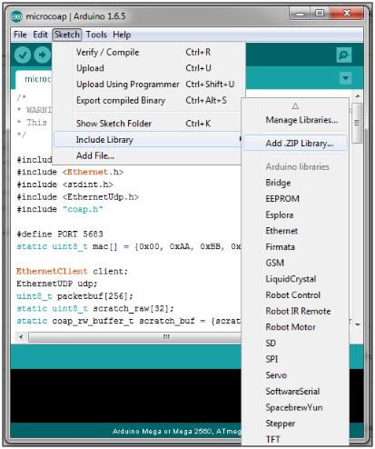 Arduino COAP Protocol : Geeknesia