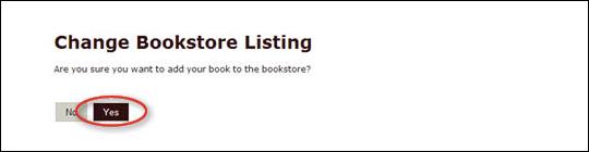Add Book to Bookstore - step 5
