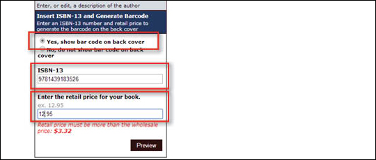 Add ISBN Barcode to Cover - step 6