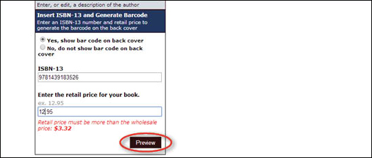 Add ISBN Barcode to Cover - step 7