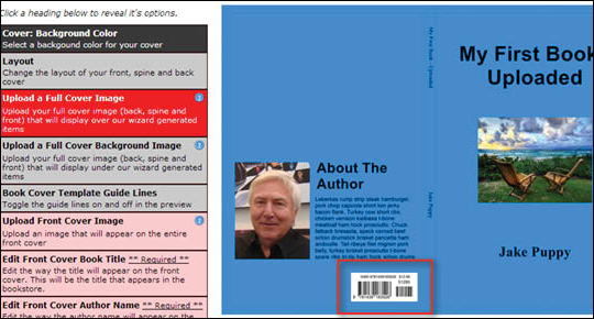 Add ISBN Barcode to Cover - step 8