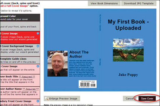 Add ISBN Barcode to Cover - step 9