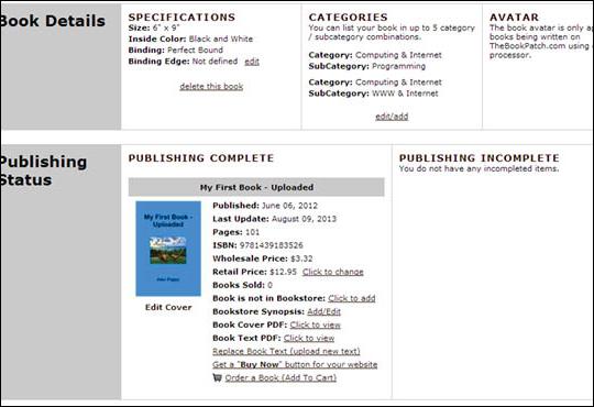 Edit Retail Price - No ISBN - step 6