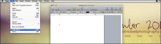 Convert Apple Pages to PDF - step 1