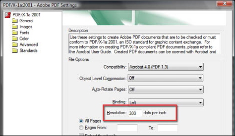Convert Word 2007 to PDF - step 7