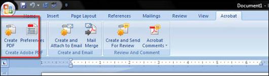Convert Word 2007 to PDF - step 10
