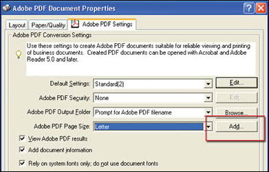 Convert Microsoft Word 97 - 2003 To PDF : The BookPatch