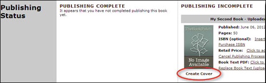 Complete Publishing Process - step 4