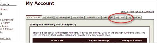 Check ISBN Status - step 3