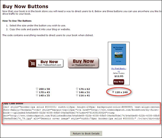Use Buy Now Button - step 6