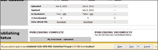 Download Current eBook File - step 4