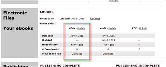 Upload Missing eBook Files - step 6