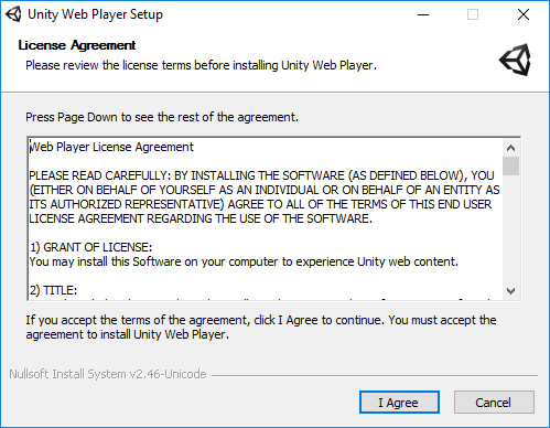 How to install Unity Web Player on Windows : MyCognition Support