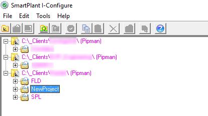 SmartPlant I-Configure PipMan Directories (Styles)