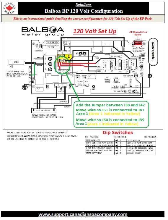 acrylic plug & play - balboa bp 120v control pack ... balboa spa pack wiring diagram