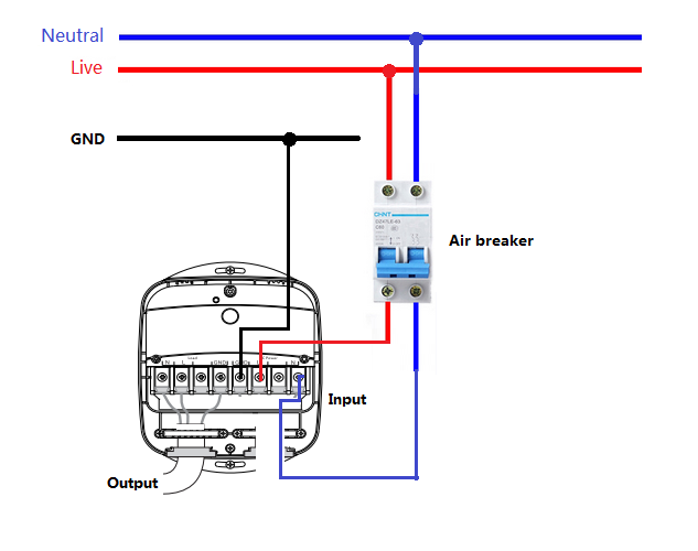 ... US regions only while the EU can only be connected to 1 phase below you will find diagrams that you can use to wire up your Heavy Duty Smart Switch.