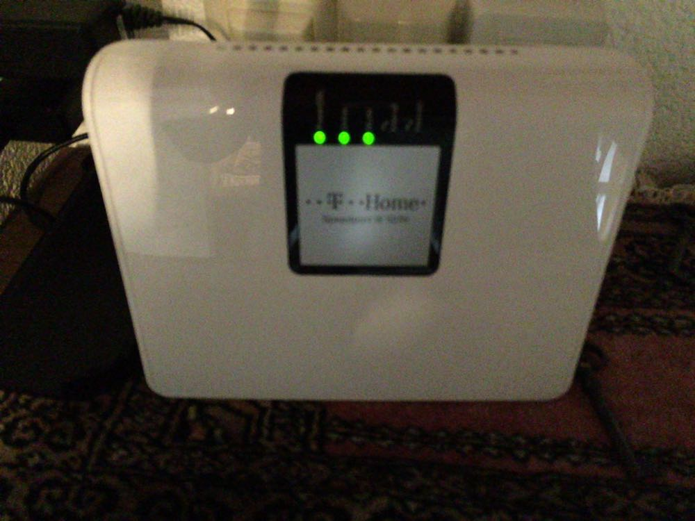 Router im Normalmodus