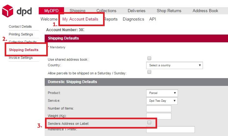 how to find parcel number