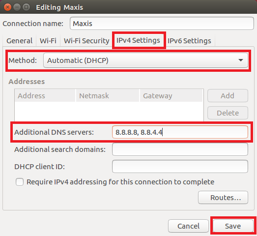 How To Set Google DNS On Your Linux Computer (Ubuntu