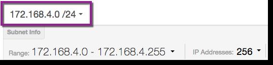 Shimo Subnet Calculator subnet range