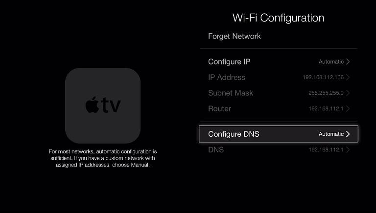 Configure DNS