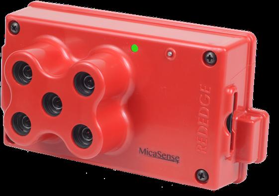 Micasense RedEdge multispectral sensor