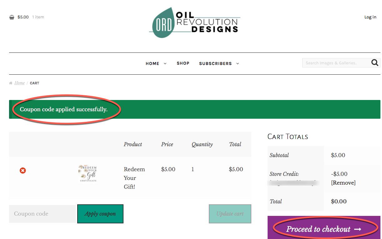 Oil revolution designs coupon code