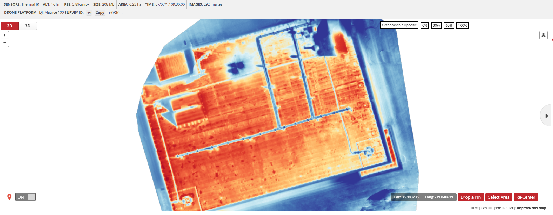 Thermal Imagery : PrecisionMapper Support
