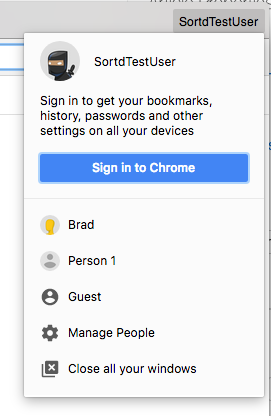 Creating a New Chrome Profile : Help Desk