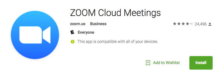 How do I download the Zoom app on my Lenovo Tab3 STRATIS ...