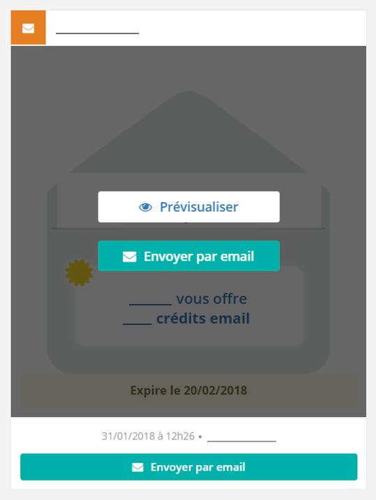 Envoyer par email